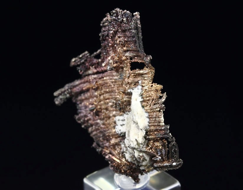 spinel-twinned SILVER, CALCITE