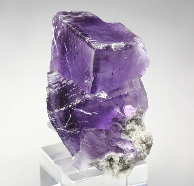 FLUORITE with PHANTOMS